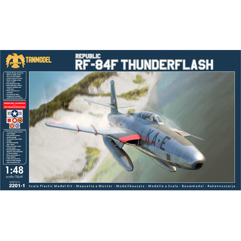 TAN2201-1 Republic RF-84F Thunderflash