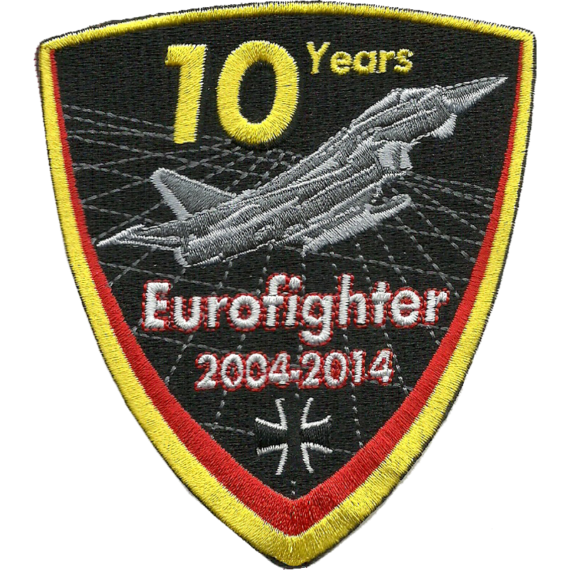 LAAGE 002 10 Jahre Eurofighter Patch