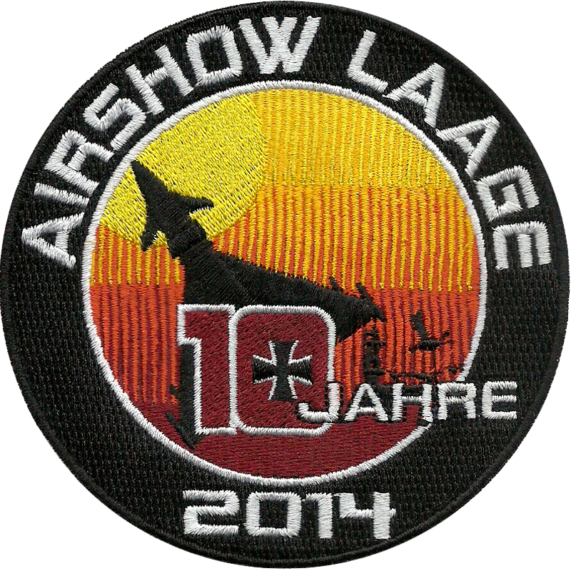 LAAGE 001 Official Airshow Laage Patch