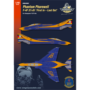 "WMD48003 F-4F 37+01 ""Phantom Pharewell"""